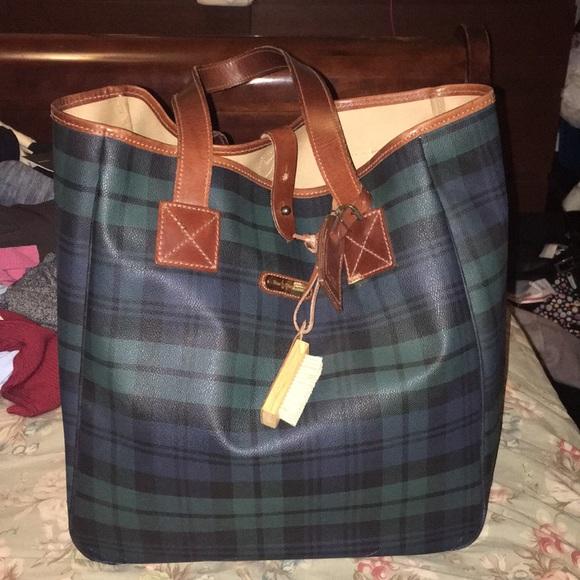 Vintage Ralph Lauren Blackwatch tote bag. M 5b875499f30369a1789ec370 1370142ceb493